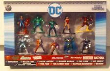 Nano MetalFigs DC 10-Pack Superman Killer Croc Green Lantern Wonder Woman MISB