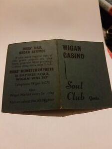 Northern Soul Wigan Casino Soul Club (Gents) Membership Card