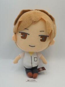 "Natsume Yuujinchou Takashi B1103 Banpresto 2012 Prize Plush 7"" Toy Doll japan"
