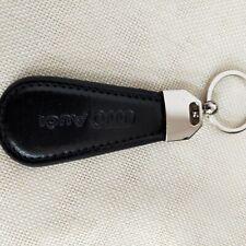 Audi Car Logo Leather Emblem key chain
