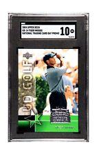 2004 Upper Deck UD14 Tiger Woods National Trading Card Day Promo SGC 10 Gem Mint