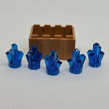 1x1x1 Pink Translucent Crystal Bricks ~ New Lego Parts 3
