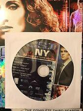 CSI: NY – Season 3, Disc 6 REPLACEMENT DISC (not full season)