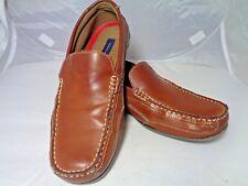 Tommy Hilfiger Men's Shoe Dathan Slip On Boat or Driving Shoe Tan  Size 10