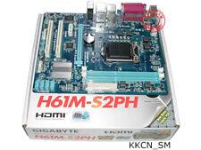 ** New ** Gigabyte H61M-S2PH Micro ATX mother board LGA1155 i3 i5 i7 Intel CPU