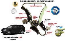 für Dodge Journey 2.4i 2008> Steuerkettenspanner Satz + öl-pumpe-kette-kit