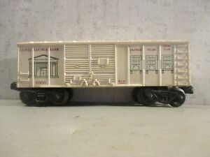 LIONEL 6050 LIONEL SAVINGS BANK BOXCAR SOME SCRATCHES VG CONDITION