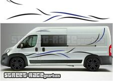 Motorhome Campervan 017 graphics stickers decal Fiat Ducato Citroen Relay Boxer