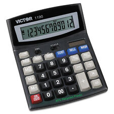 Victor 1190 Executive Desktop Calculator 12-Digit LCD