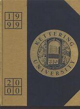 Flint MI Kettering University yearbook 2000 Michigan