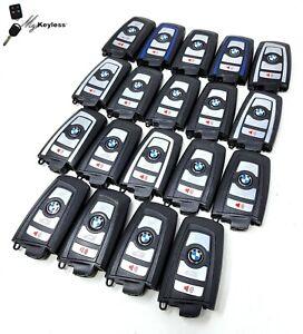 Lot x19 Used OEM BMW Keyless Entry Smartkey Remote Transmitter TESTED YGOHUF5662