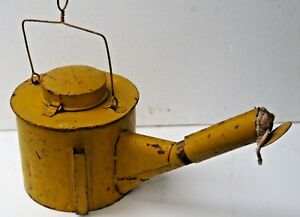 ANTIQUE Unknown Lighting Lamp POT IDENTICAL MCCLINTOCK IRVINE TORCH LAMPS TALLOW