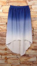 Mossimo Woman's Purple  Maxi Skirt Asymmetrical Hem Size S/P