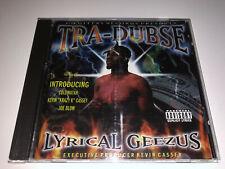 CD: TRA-DUBSE - Lyrical Geezus (2000)Super Rare Memphis TN Rap G-Funk