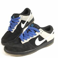 Nike Dunk Low 6.0 Men's Size 7.5 Skate Casual Shoes Black Suede 2008