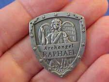 ARCHANGEL ST RAPHAEL Pocket Token Healing SHIELD By Angel Star Saint Medal