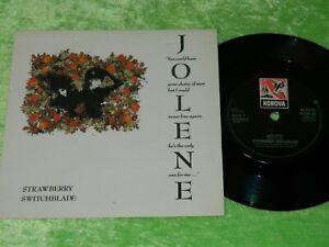 "STRAWBERRY SWITCHBLADE : Jolene - Original 1985 UK 7"" single EX/NM 215"