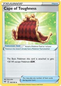 160/189 Cape of Toughness Trainer Uncommon Darkness Ablaze Pokemon Card