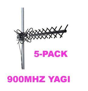 900 MHz 14.5 dBi Dual Pol Yagi Antenna (5 Pack) KPPA-900DPY14 **FREE SHIPPING**