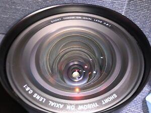 LNS-W03 Short Throw On Axial Lens 0.8:1