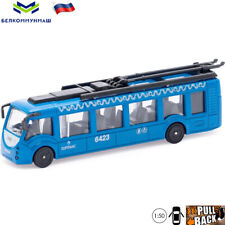 Diecast Vehicles Scale 1:50 Trolleybus Vitovt 420 Russian Model Car