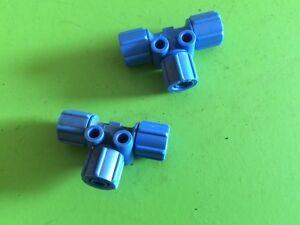 2 Stück T-Schnellverschraubungen-Verteilerstück -6-FCK