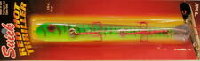 """SUICK 9"""" RED HOT THRILLER MUSKY / MUSKIE LURE JERKBAIT - Fire Tiger - New"""