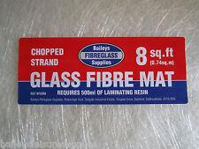 Fibreglass Mat / Matting GRP 8 Sq Feet Chopped Strand