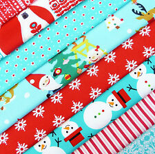 Christmas Brights Fabric Remnant Scrap Pack / stocking decoration patchwork