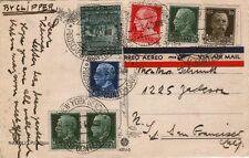 NAVIGAZIONE – Cartolina per S. Francisco a mezzo Pir. C