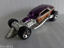 1st First Editions 1998 Hot Wheels SURF CRATE Die Cast Metal Purple Silver EVC!