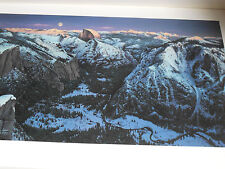 "Lyman, Stephen  ""Yosemite Alpenglow"" SIIGNED/# 831/950  Lithograph NIF/COA MT"