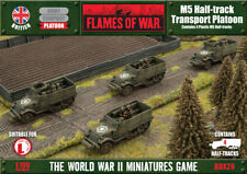 M5 Halftrack Transport Platoon (Plastic) Flames of War