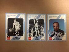 Bill Bunting Signed North Carolina Tar Heel Basketball Card 1989 COA