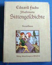 Illustrierte Sittengeschichte,Schlafen, Sex, Erotik, Frauenakt+Eduart Fuchs