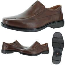 Zapatos De Vestir Unstructured Por Clarks Hombre Cuero Un. Sheridan Eva Mocasín
