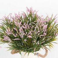 GI- 1Pc Artificial Plant Grass Flower Arrangement Home Office Garden Party Decor