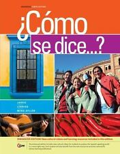 ¿Como se dice...?, Enhanced (World Languages) by Jarvis, Ana, Lebredo, Raquel,