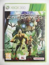 jeu ENSLAVED ODYSSEY TO THE WEST sur xbox 360 francais game spiel juego complet