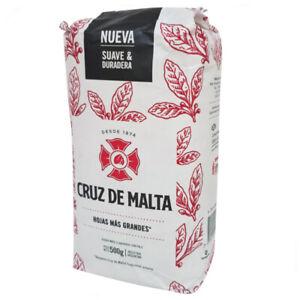 YERBA MATE CRUZ DE MALTA 500G CON PALOS/WITH STEMS