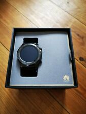 Huawei Watch 2 Classic 45mm Plastic Case Black Rubber Strap - (120140)
