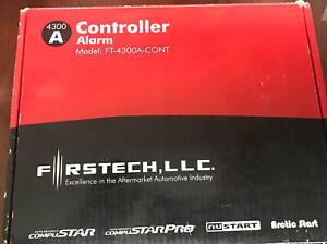 NEW Firstech FT-4300A-CONT, Compustar Shock Sensor, Siren, Wiring Kit, CM4300.