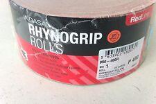 Indasa 950-400R Rhynogrip Redline Roll 400 Grit Hook & Loop Fileboard Sandpaper