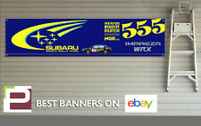 Subaru Impreza WRX Banner for Workshop, Garage, Pit Lane, Colin McRae, Rally,