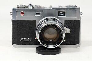 Petri F1.9 camera with Kurabayashi AC 4.5cm F1.9 Lens!!!!