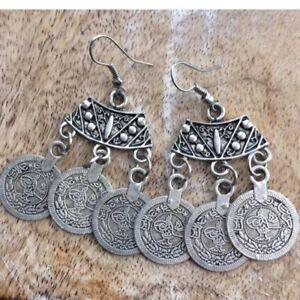 Boho Gypsy Coin Earrings Belly dance