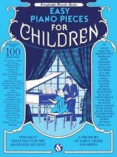 Piezas de piano fácil favorito para los niños a aprender a jugar Principiante Canciones Libro de Música