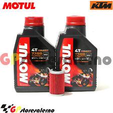 TAGLIANDO OLIO + FILTRO MOTUL 7100 10W50 KTM 690 SMC R 2013