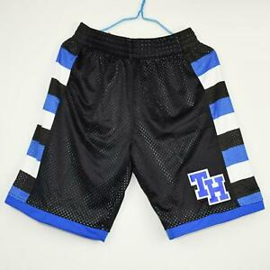 Nathan Scott #23 One Tree Hill SHORTS Ravens Movie Basketball BLACK SEWN M-XXL