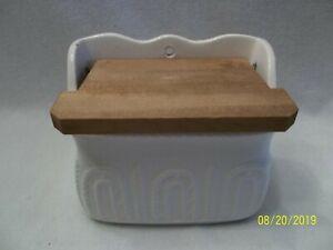 Vintage Salt Box Made In Japan